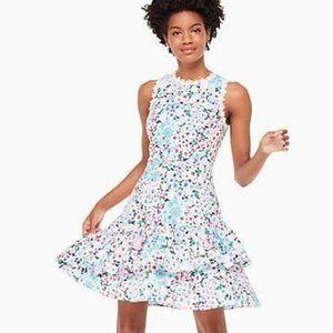 Kate Spade Daisy Garden Floral Poplin Mini Dress